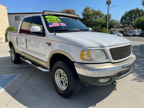 2001 Ford F-150 for sale at Select Auto Wholesales in Glendora CA