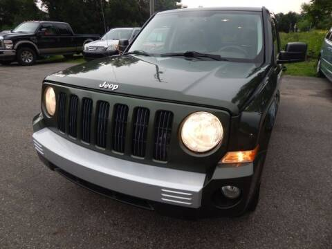 2008 Jeep Patriot for sale at PARAGON AUTO SALES in Portage MI