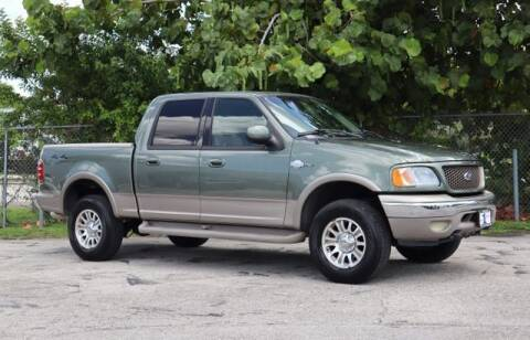 2001 Ford F-150 for sale at No 1 Auto Sales in Hollywood FL