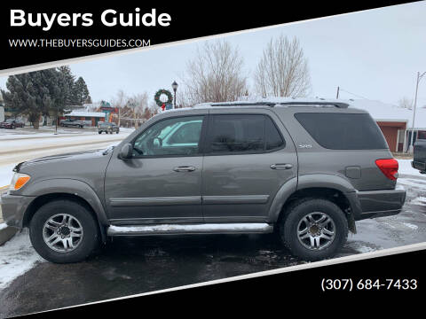 2006 Toyota Sequoia for sale at Buyers Guide in Buffalo WY