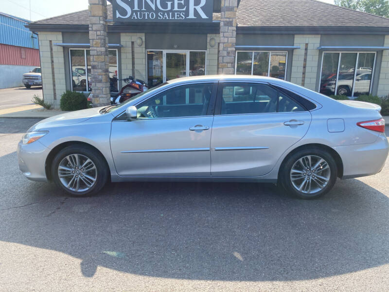 2016 Toyota Camry for sale at Singer Auto Sales in Caldwell OH