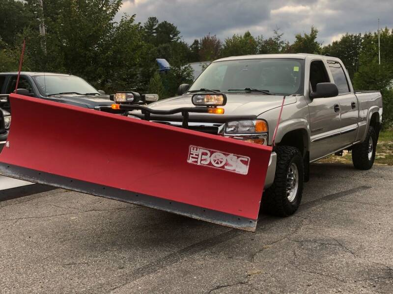 2004 GMC Sierra 2500HD for sale at Top Line Motorsports in Derry NH