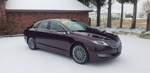 2013 Lincoln MKZ Hybrid for sale at Elite Auto Sales in Herrin IL