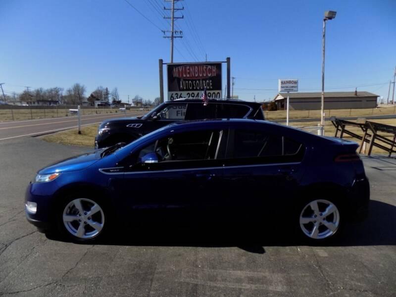 2013 Chevrolet Volt for sale at MYLENBUSCH AUTO SOURCE in O` Fallon MO