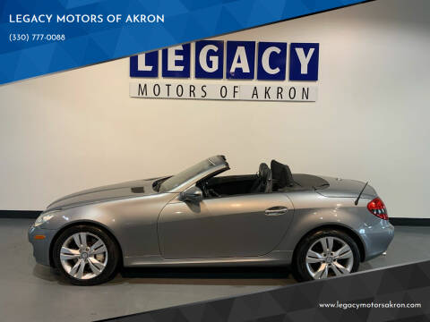 2009 Mercedes-Benz SLK for sale at LEGACY MOTORS OF AKRON in Akron OH
