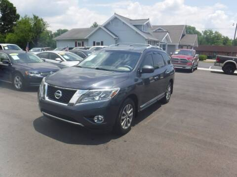 2014 Nissan Pathfinder for sale at Rob Co Automotive LLC in Springfield TN