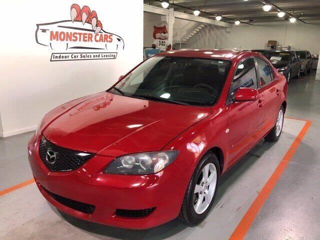 2005 Mazda MAZDA3 for sale at Monster Cars in Pompano Beach FL