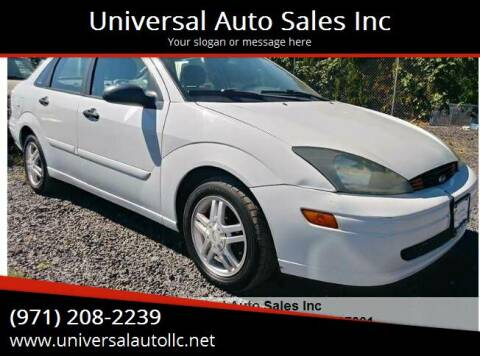 2003 Ford Focus for sale at Universal Auto Sales Inc in Salem OR