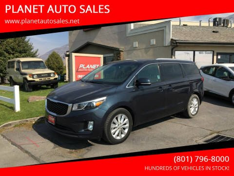2017 Kia Sedona for sale at PLANET AUTO SALES in Lindon UT