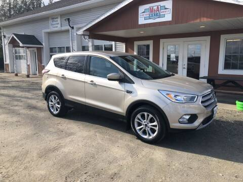 2017 Ford Escape for sale at M&A Auto in Newport VT
