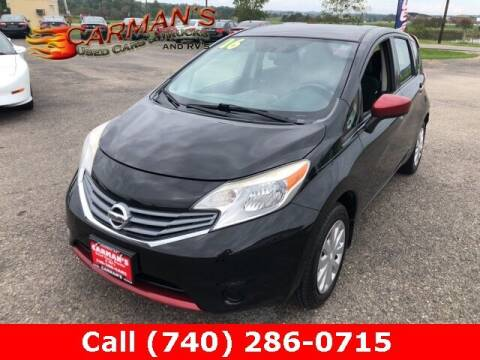 2016 Nissan Versa Note for sale at Carmans Used Cars & Trucks in Jackson OH