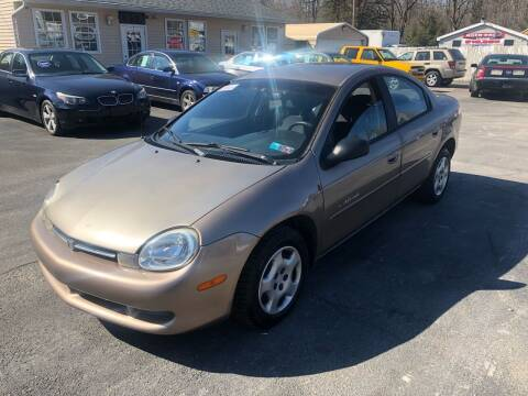 2000 Dodge Neon for sale at INTERNATIONAL AUTO SALES LLC in Latrobe PA