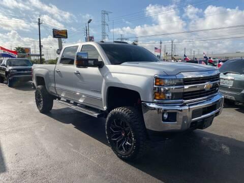 2015 Chevrolet Silverado 2500HD for sale at Texas 1 Auto Finance in Kemah TX