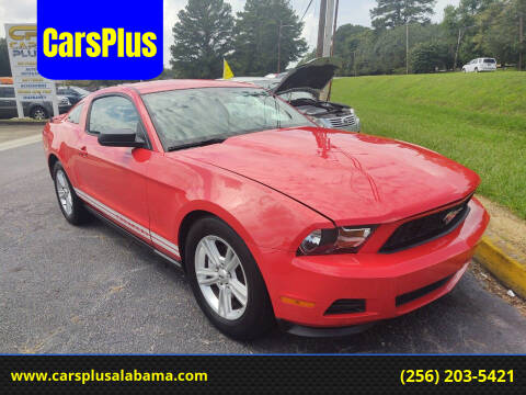 2012 Ford Mustang for sale at CarsPlus in Scottsboro AL
