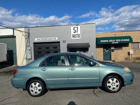 2006 Toyota Corolla for sale at 57 AUTO in Feeding Hills MA