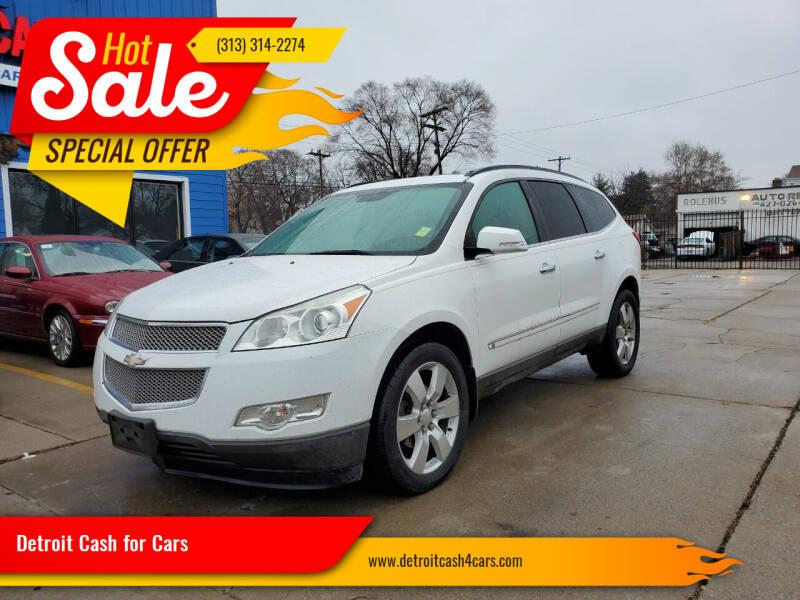 2009 Chevrolet Traverse for sale at Detroit Cash for Cars in Warren MI