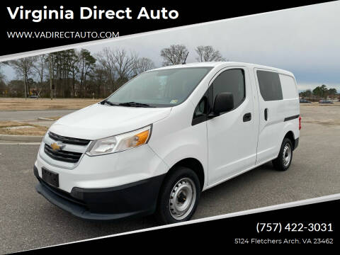 2016 Chevrolet City Express Cargo for sale at Virginia Direct Auto in Virginia Beach VA