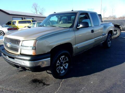 2004 Chevrolet Silverado 1500 for sale at DAVE KNAPP USED CARS in Lapeer MI