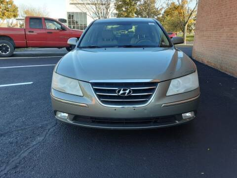 2009 Hyundai Sonata for sale at Fredericksburg Auto Finance Inc. in Fredericksburg VA