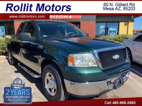 2007 Ford F-150 for sale at Rollit Motors in Mesa AZ