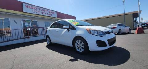 2014 Kia Rio 5-Door for sale at Henry's Autosales, LLC in Reno NV