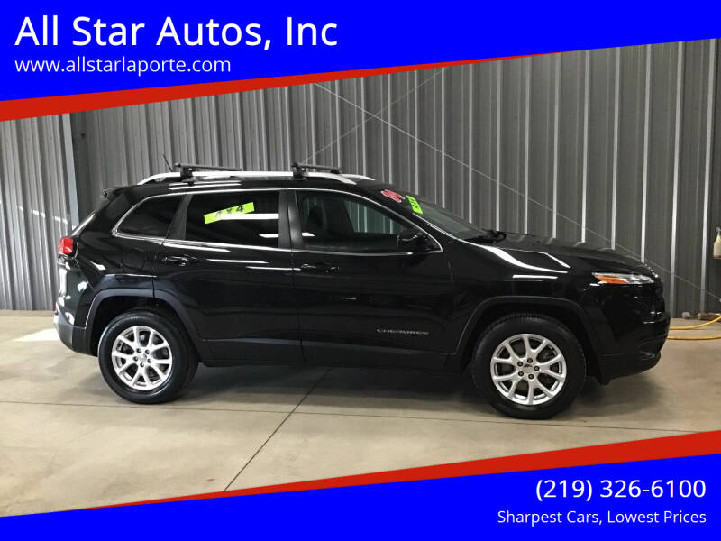 2014 Jeep Cherokee for sale at All Star Autos, Inc in La Porte IN