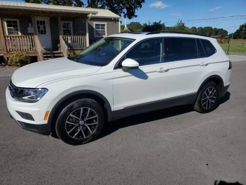 2021 Volkswagen Tiguan for sale at G. B. ENTERPRISES LLC in Crossville AL