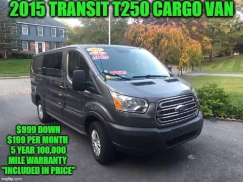 2015 Ford Transit Cargo for sale at D&D Auto Sales, LLC in Rowley MA
