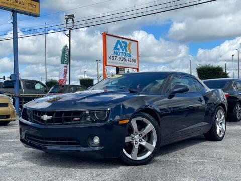 2011 Chevrolet Camaro for sale at Ark Motors LLC in Orlando FL