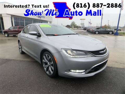 2015 Chrysler 200 for sale at Show Me Auto Mall in Harrisonville MO