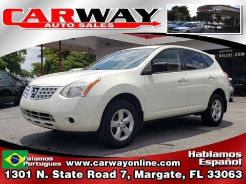 2010 Nissan Rogue for sale at CARWAY Auto Sales in Margate FL