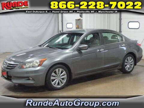 2011 Honda Accord for sale at Runde Chevrolet in East Dubuque IL