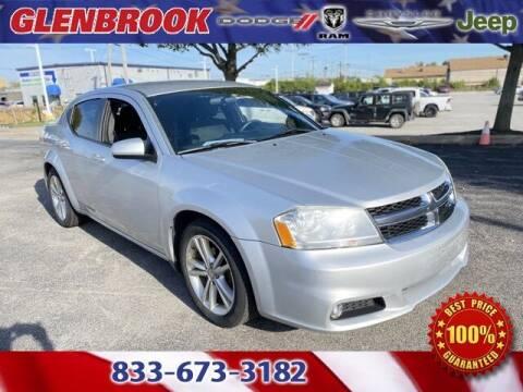 2012 Dodge Avenger for sale at Glenbrook Dodge Chrysler Jeep Ram and Fiat in Fort Wayne IN