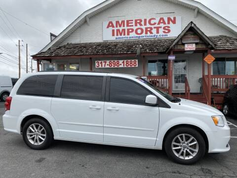 2016 Dodge Grand Caravan for sale at American Imports INC in Indianapolis IN
