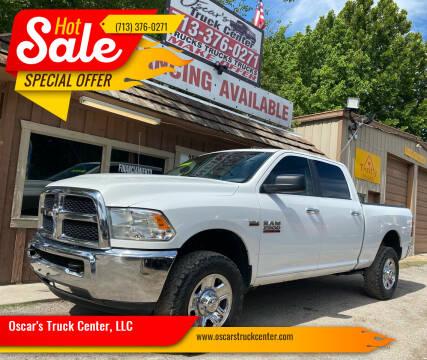 2016 RAM Ram Pickup 2500 for sale at Oscar's Truck Center, LLC in Houston TX