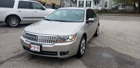 2007 Lincoln MKZ for sale at Union Street Auto in Manchester NH