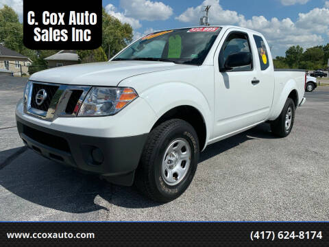 2019 Nissan Frontier for sale at C. Cox Auto Sales Inc in Joplin MO