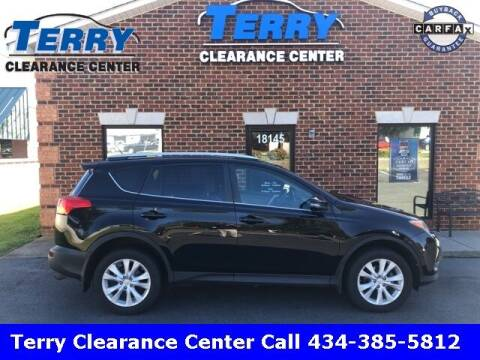 2015 Toyota RAV4 for sale at Terry Clearance Center in Lynchburg VA