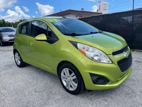 2013 Chevrolet Spark for sale at Alma Car Sales in Miami FL