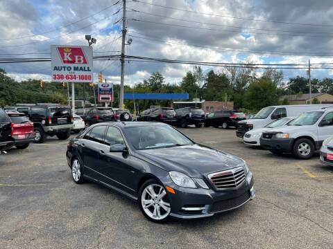 2012 Mercedes-Benz E-Class for sale at KB Auto Mall LLC in Akron OH