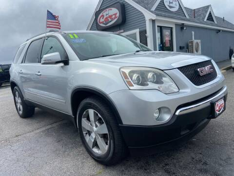 2011 GMC Acadia for sale at Cape Cod Carz in Hyannis MA