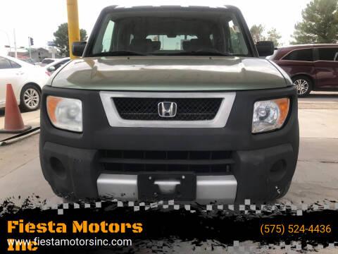 2004 Honda Element for sale at Fiesta Motors Inc in Las Cruces NM