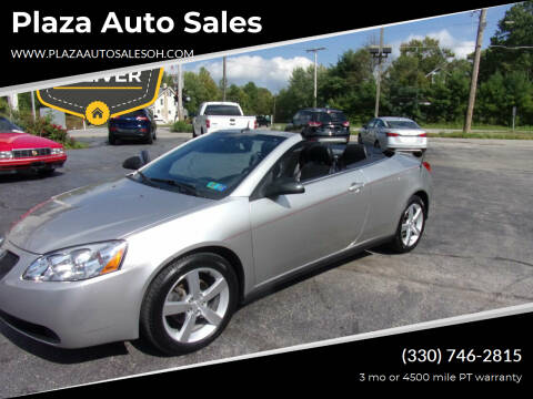 2008 Pontiac G6 for sale at Plaza Auto Sales in Poland OH