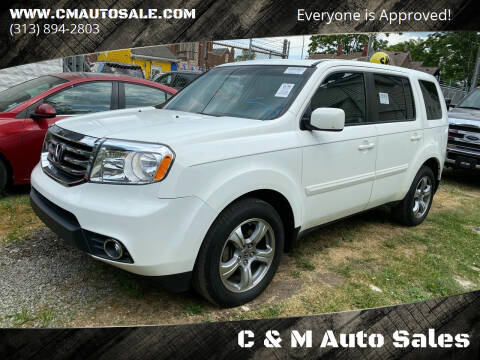 2012 Honda Pilot for sale at C & M Auto Sales in Detroit MI