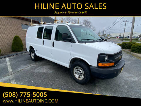 2012 Chevrolet Express Cargo for sale at HILINE AUTO SALES in Hyannis MA