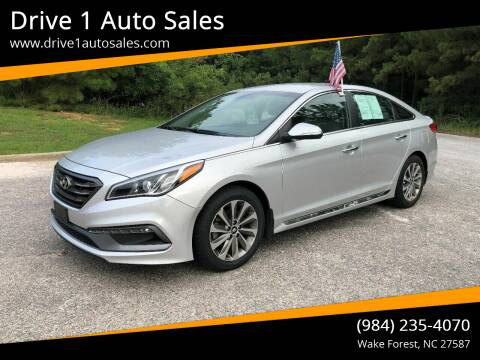 2016 Hyundai Sonata for sale at Drive 1 Auto Sales in Wake Forest NC
