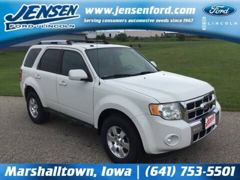 2011 Ford Escape for sale at JENSEN FORD LINCOLN MERCURY in Marshalltown IA