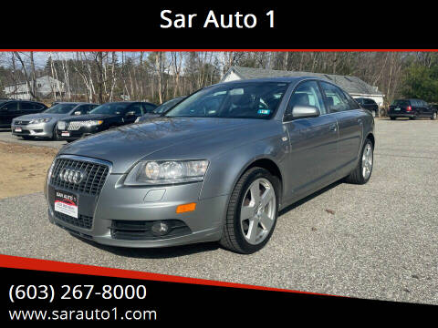 2008 Audi A6 for sale at Sar Auto 1 in Belmont NH
