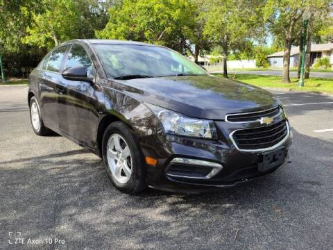 2016 Chevrolet Cruze Limited for sale at Start Auto Liquidation Center in Miramar FL