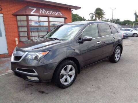 2011 Acura MDX for sale at Z MOTORS INC in Fort Lauderdale FL
